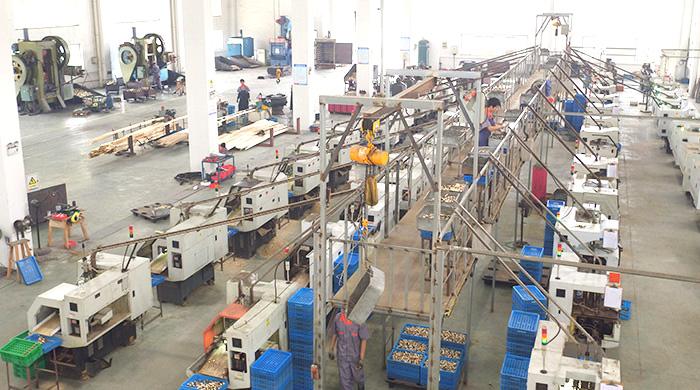 喷头自动化生产线